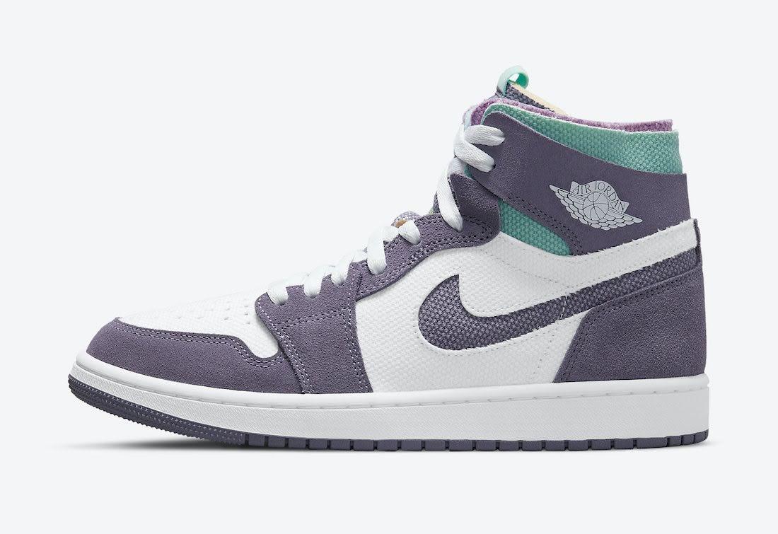 """ナイキ エア ジョーダン 1 ズーム コンフォート """"トロピカル ツイスト"""" Nike-Air-Jordan-1-Zoom-Comfort-Tropical-Twist-CT0978-150-side"""