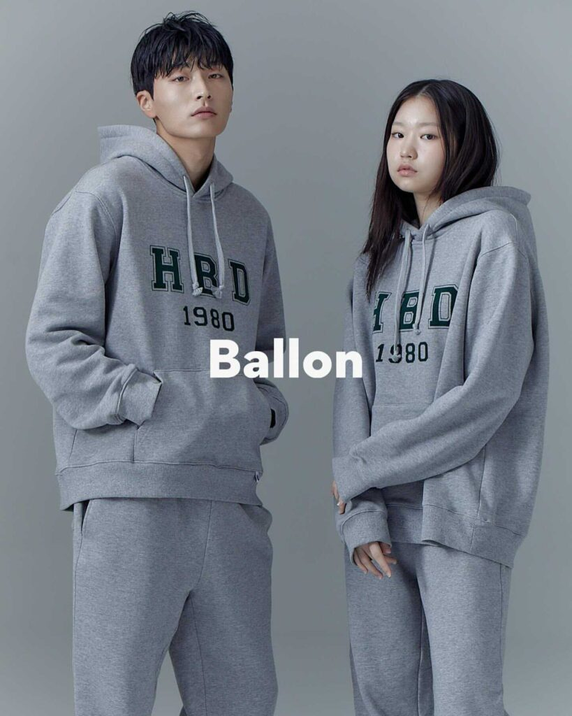 韓国 ブランド バロン ファッション スウェット Ballon Korea Official Korean Brand