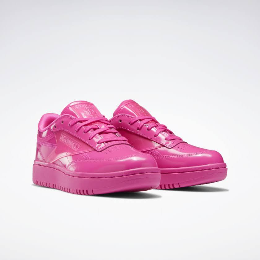 リーボック × カーディビー/ クラブ シー ダブル (ダイナミックピンク) Reebok_Cardi_Coated_Club_C_Double_Pink_H02566-pair