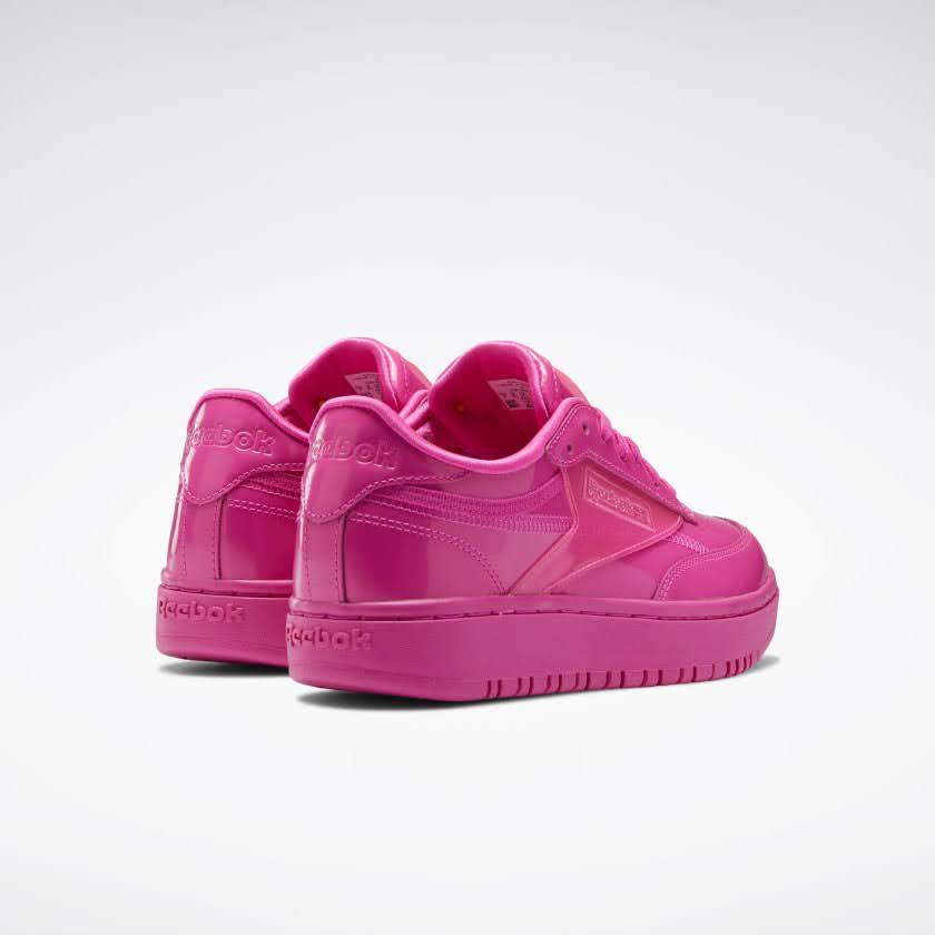リーボック × カーディビー/ クラブ シー ダブル (ダイナミックピンク) Reebok_Cardi_Coated_Club_C_Double_Pink_H02566-pair-back