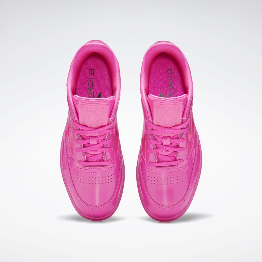 リーボック × カーディビー/ クラブ シー ダブル (ダイナミックピンク) Reebok_Cardi_Coated_Club_C_Double_Pink_H02566-top
