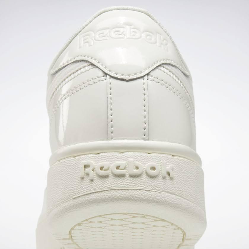 リーボック × カーディビー/ クラブ シー ダブル (チョーク) Reebok_Cardi_Coated_Club_C_Double_White_H02567-heel-closeup