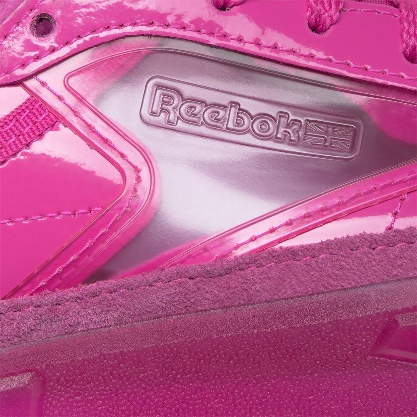 リーボック × カーディビー/ クラブ シー カーディ (ダイナミックピンク) Reebok_Club_C_Cardi_Pink_H01011-side-closeup
