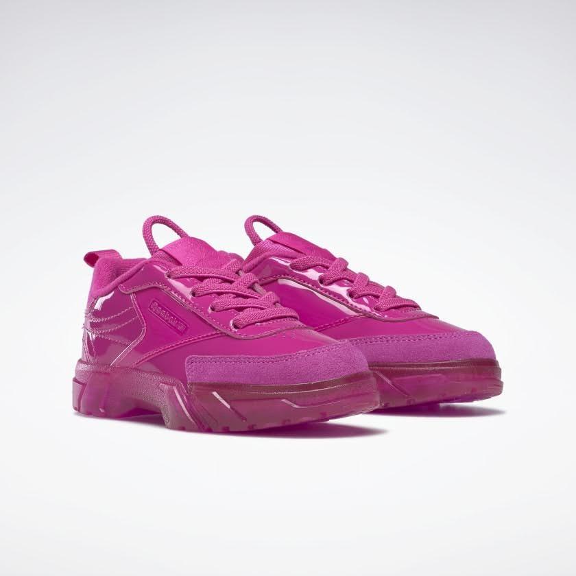 リーボック × カーディビー (トドラー)/ クラブ シー カーディ (ダイナミックピンク) Reebok_Club_C_Cardi_Toddler_Pink_H02531-pair