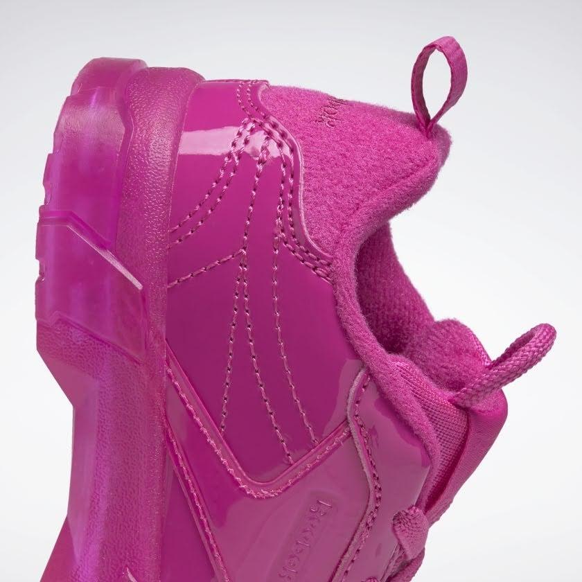 リーボック × カーディビー (トドラー)/ クラブ シー カーディ (ダイナミックピンク) Reebok_Club_C_Cardi_Toddler_Pink_H02531-side-heel-closeup