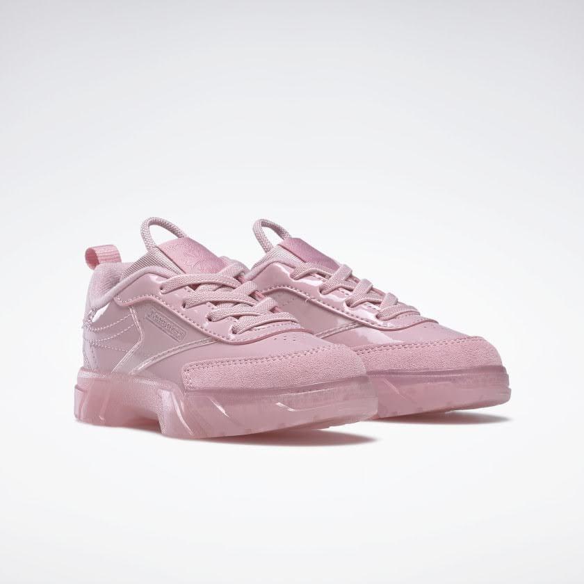 リーボック × カーディビー (トドラー)/ クラブ シー カーディ (クラシックピンク) Reebok_Club_C_Cardi_Toddler_Classic_Pink_H02571-pair