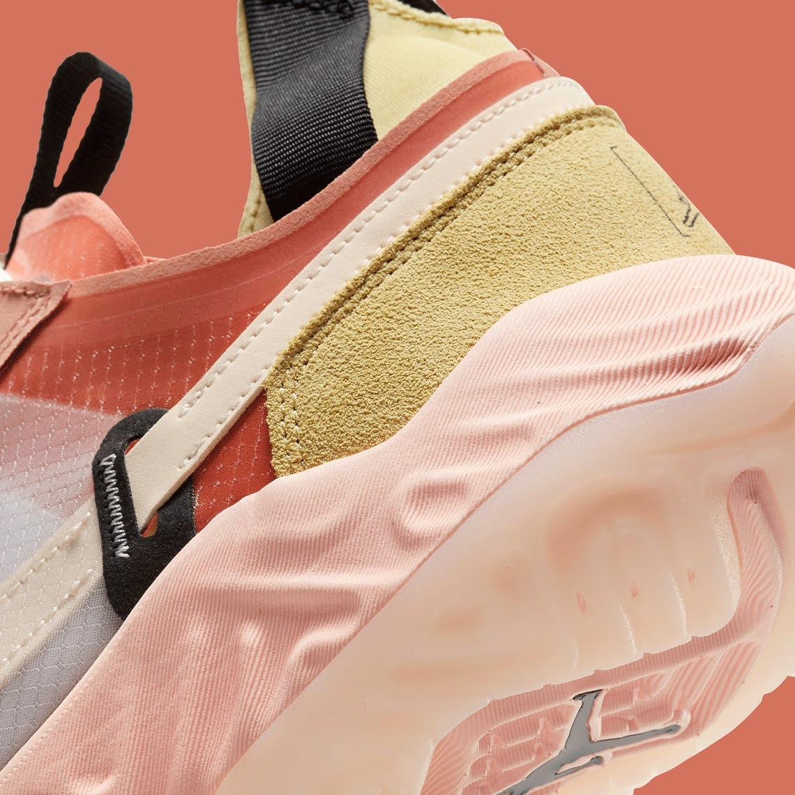"""ナイキ ジョーダン デルタ ブリース """"グァバ アイス"""" Nike-Jordan-Delta-Breathe-CW0783-104-side-heel-closeup"""
