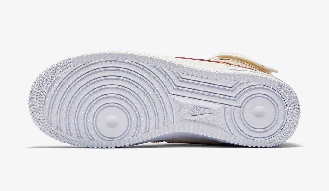 """ナイキ ウィメンズ エア フォース 1 ハイ """"ノーブル レッド"""" Nike-Air-Force-1-High-WMNS-334031-200-sole"""