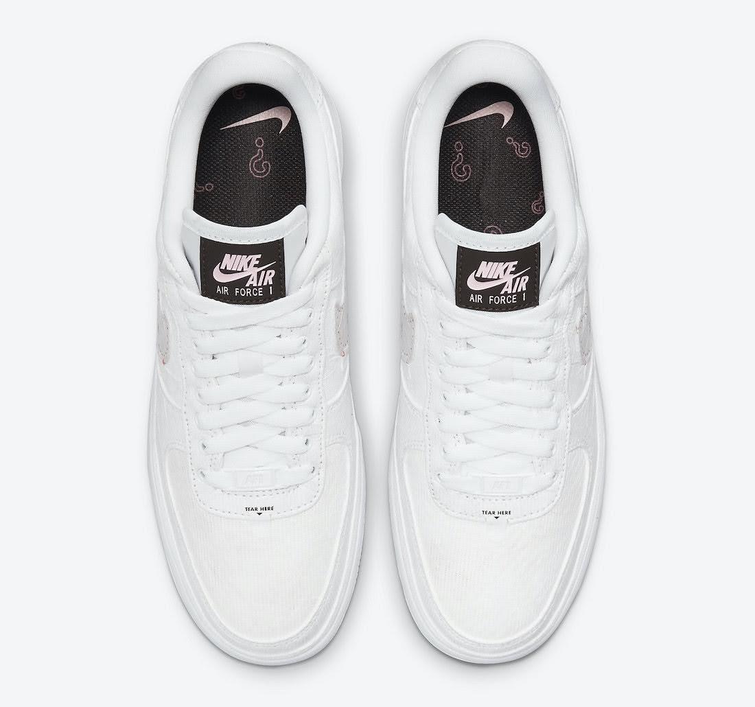 """ナイキ エア フォース 1 ロー """"リベール"""" Nike-Air-Force-1-Low-Reveal-Tear-Away-DJ9941-244-top"""