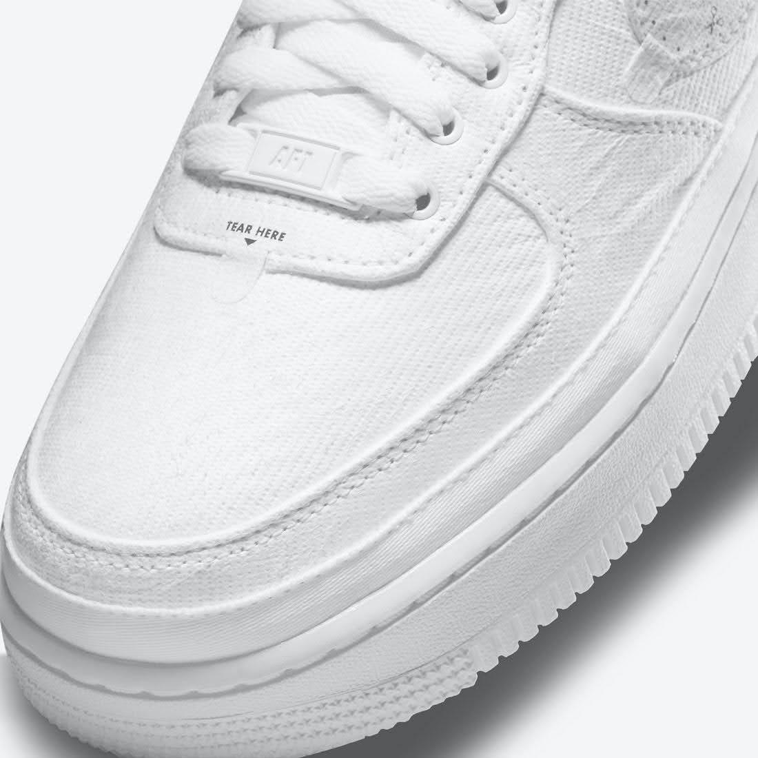 """ナイキ エア フォース 1 ロー """"リベール"""" Nike-Air-Force-1-Low-Reveal-Tear-Away-DJ9941-244-toe"""