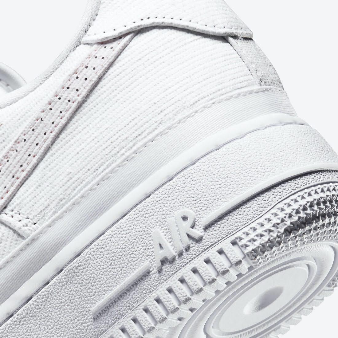 """ナイキ エア フォース 1 ロー """"リベール"""" Nike-Air-Force-1-Low-Reveal-Tear-Away-DJ9941-244-side-heel-closeup"""