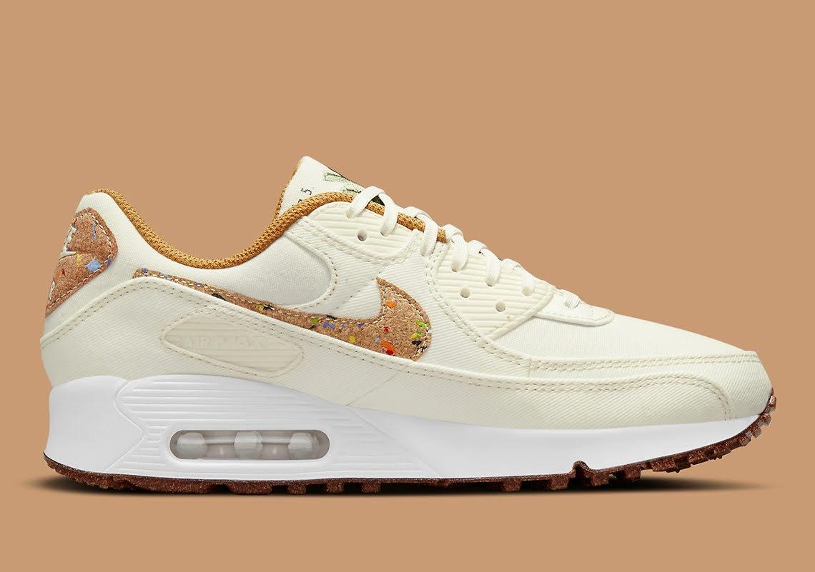 """ナイキ エア マックス 90 フローラ パック """"コルク"""" Nike-Air-Max-90-Cork-DD0384-100-side-2"""