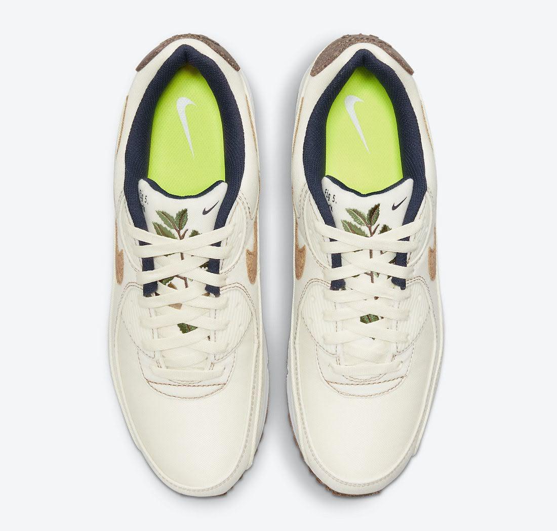 """ナイキ エア マックス 90 """"コルク"""" Nike-Air-Max-90-Cork-DD0385-100-top"""