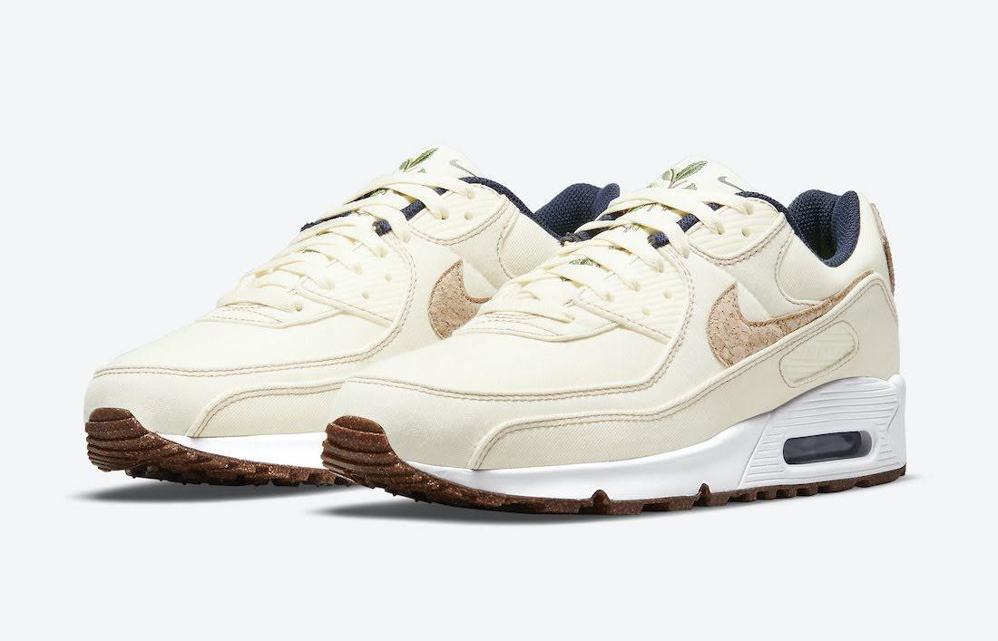 """ナイキ エア マックス 90 """"コルク"""" Nike-Air-Max-90-Cork-DD0385-100-pair"""