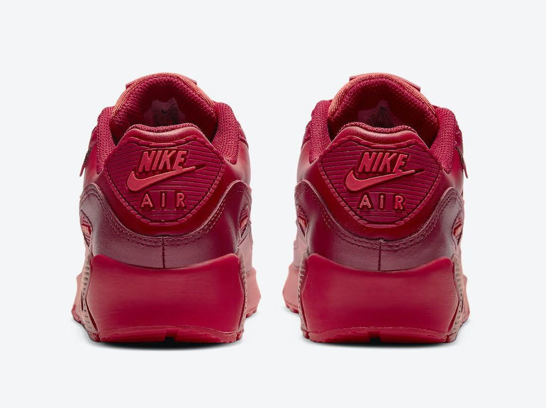 """ナイキ エア マックス 90 """"シカゴシティ スペシャル"""" / GS Nike-Air-Max-90-GS-Chicago-DH0149-600-heel"""