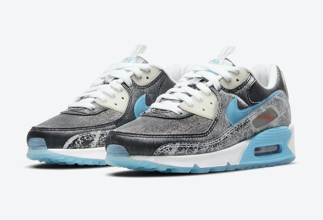 """ナイキ ウィメンズ エア マックス 90 """"おにぎり"""" Nike-Air-Max-90-Rice-Ball-DD5483-010-pair"""