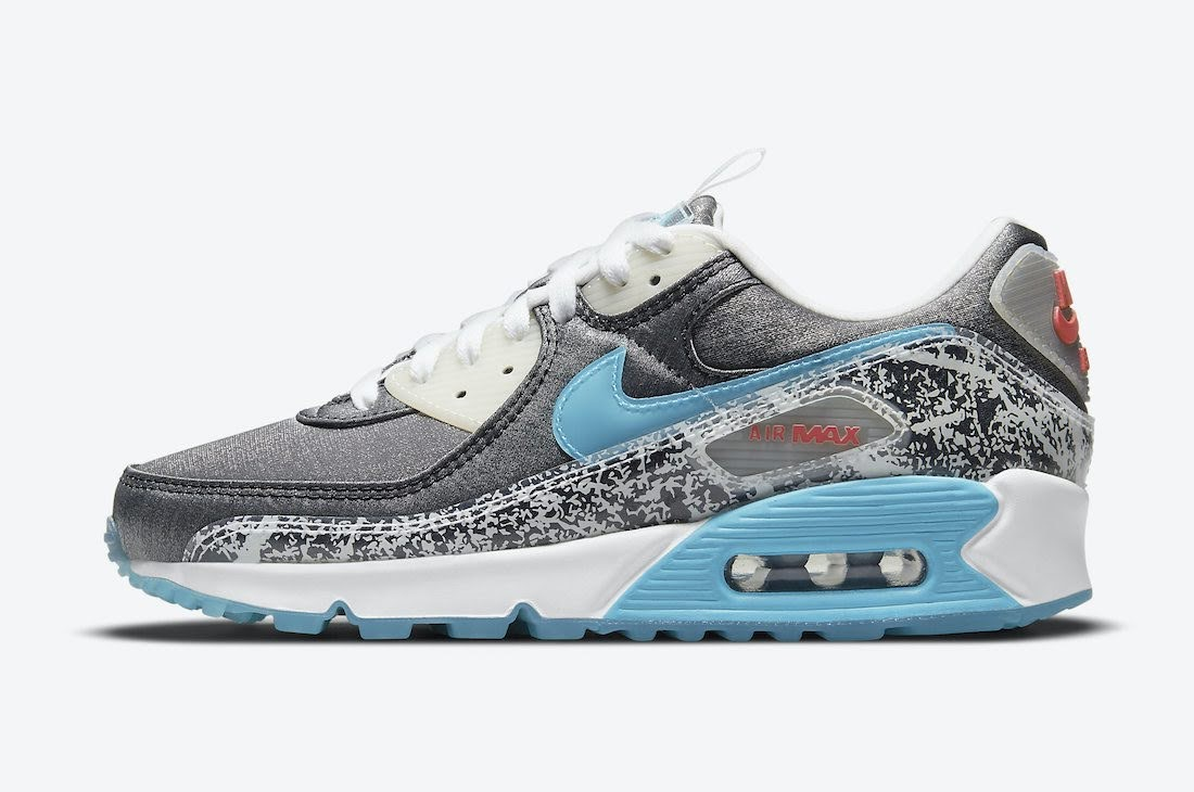 """ナイキ ウィメンズ エア マックス 90 """"おにぎり"""" Nike-Air-Max-90-Rice-Ball-DD5483-010-side"""
