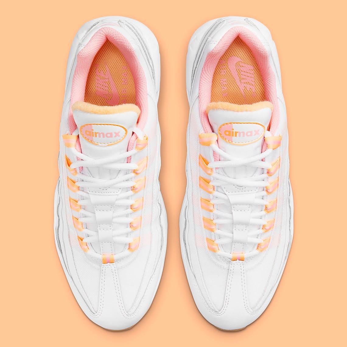 """ナイキ ウィメンズ エア マックス 95 """"メロン ティント"""" Nike-Air-Max-95-Melon-Tint-DJ1495-100-top"""