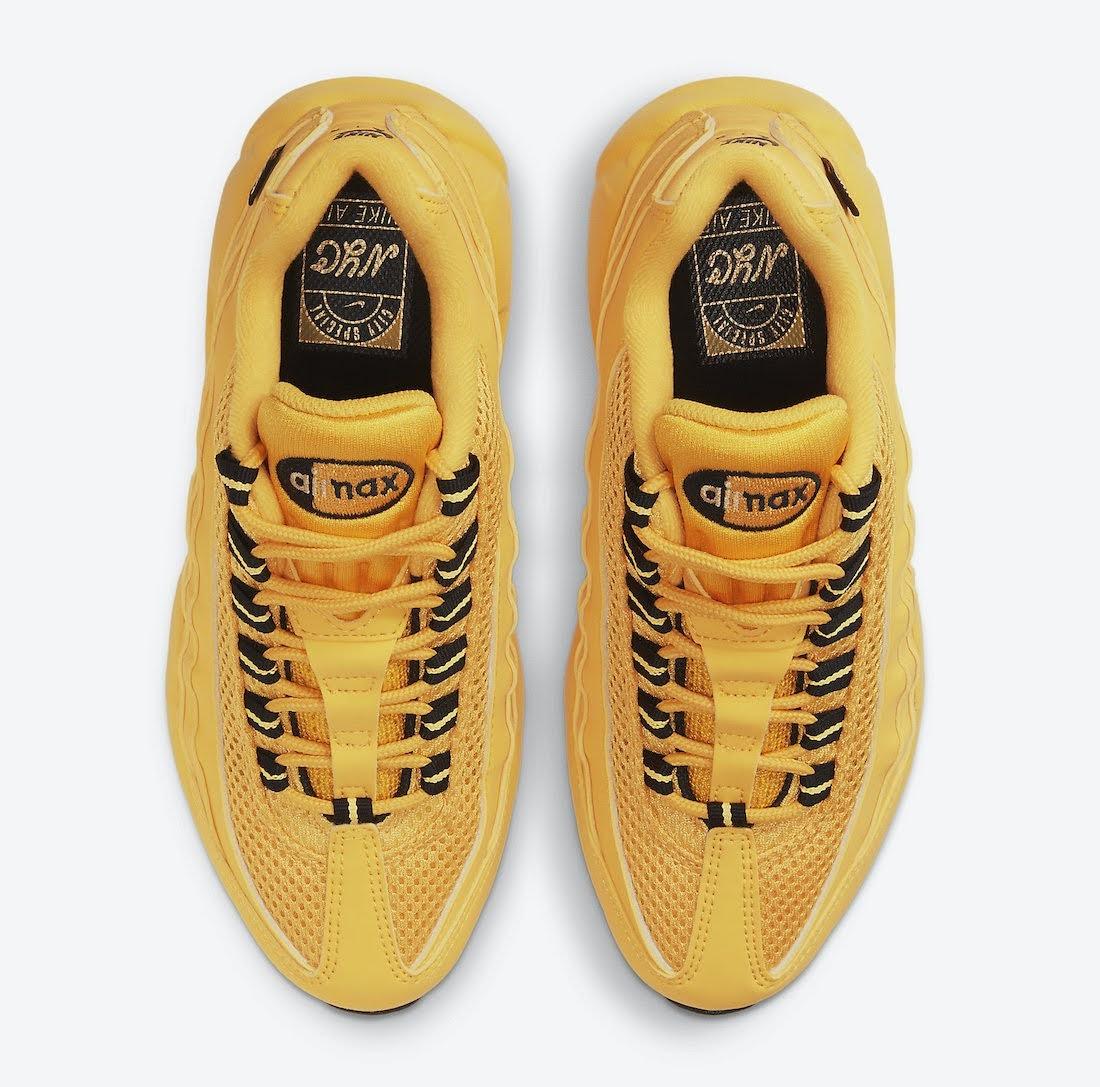 """ナイキ エア マックス 95 """"ニューヨークシティ タクシー"""" Nike-Air-Max-95-GS-NYC-Taxi-DH0147-700-top"""