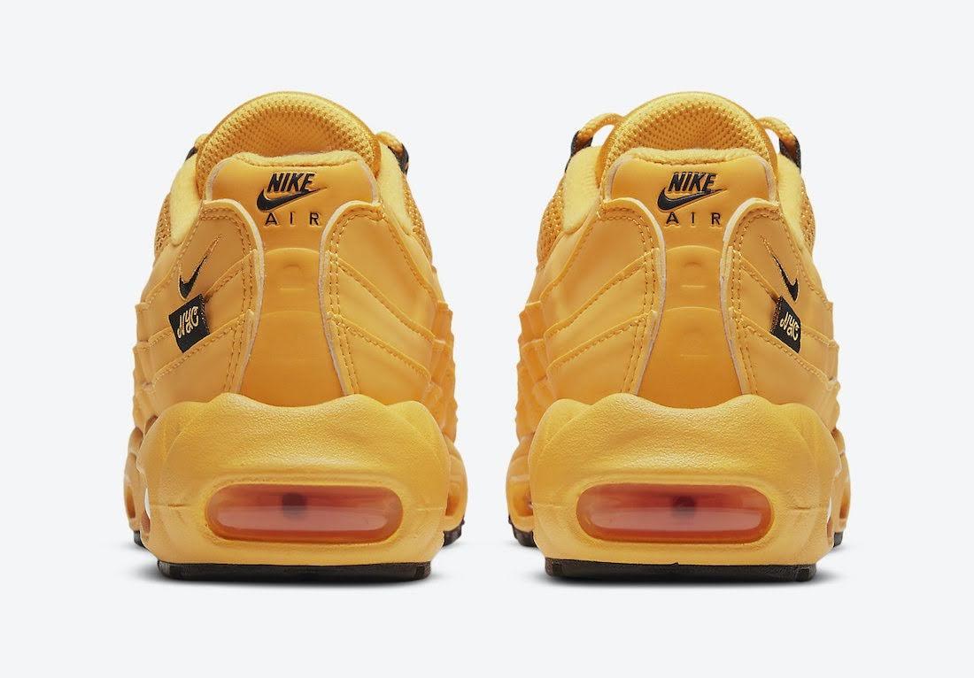 """ナイキ エア マックス 95 """"ニューヨークシティ タクシー"""" Nike-Air-Max-95-GS-NYC-Taxi-DH0147-700-heel"""