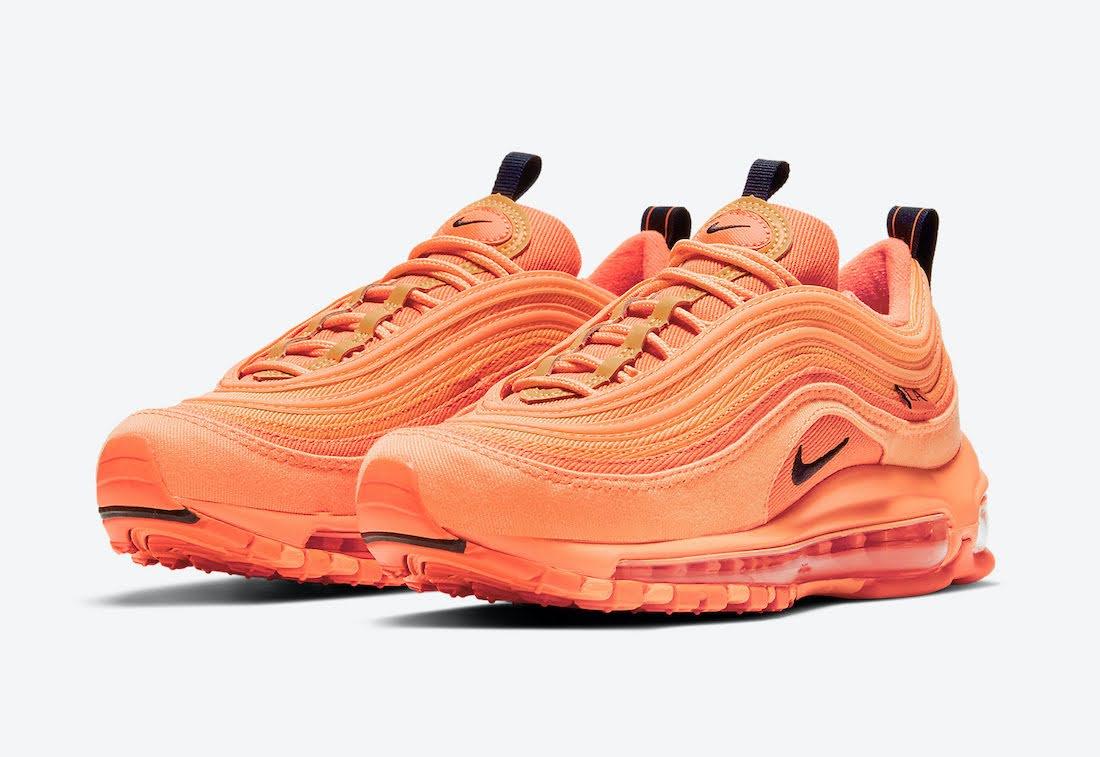 """ナイキ エア マックス 97 """"ロサンゼルス"""" / GS Nike-Air-Max-97-GS-Los-Angeles-DH0148-800-pair"""