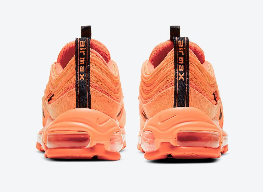 """ナイキ エア マックス 97 """"ロサンゼルス"""" / GS Nike-Air-Max-97-GS-Los-Angeles-DH0148-800-heel"""