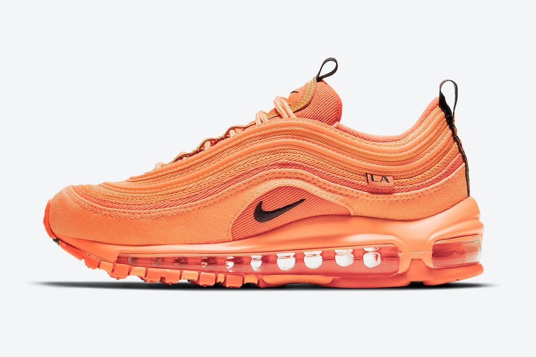 """ナイキ エア マックス 97 """"ロサンゼルス"""" / GS Nike-Air-Max-97-GS-Los-Angeles-DH0148-800-side"""