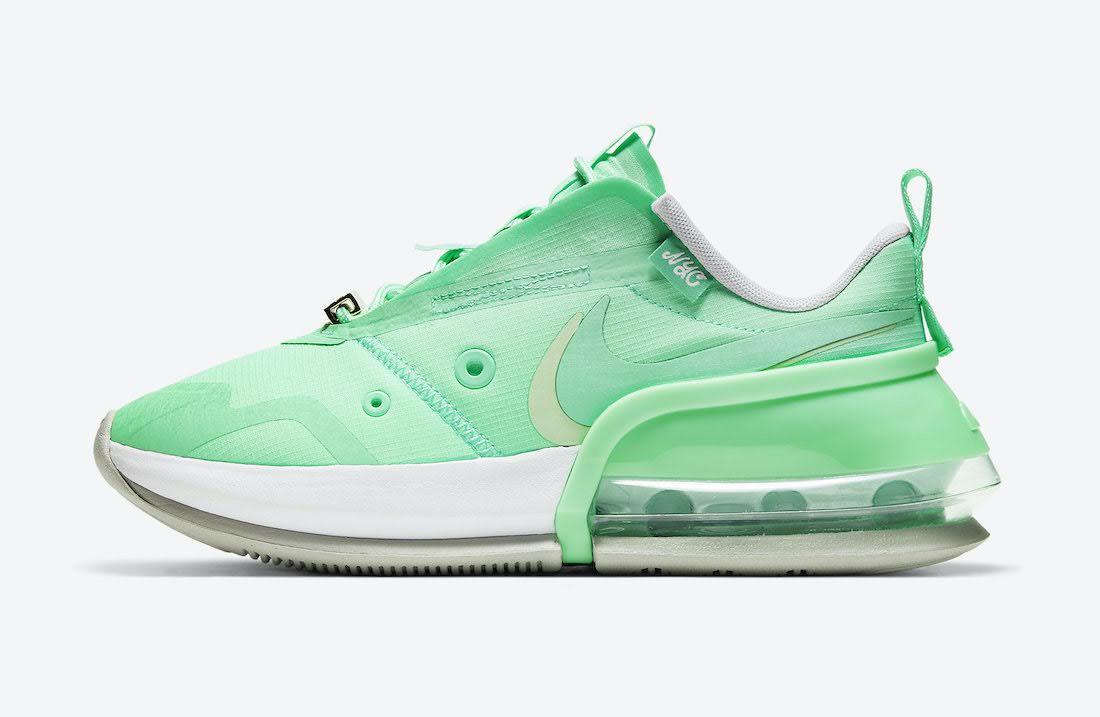 """ナイキ ウィメンズ エア マックス アップ """"レディー リバティ"""" Nike-WMNS-Air-Max-Up-NYC-Lady-Liberty-DH0154-300-side"""