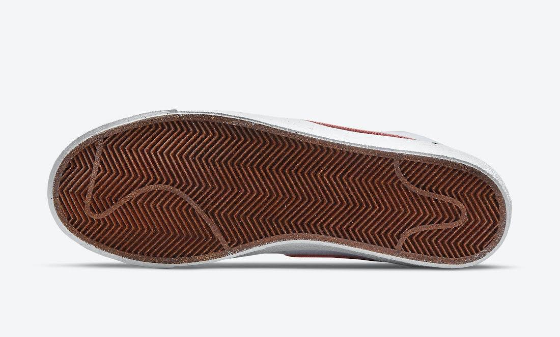 """ナイキ ブレーザー ミッド 77 """"カテキュウ"""" Nike-Blazer-Mid-77-Catechu-DC9265-101-sole"""