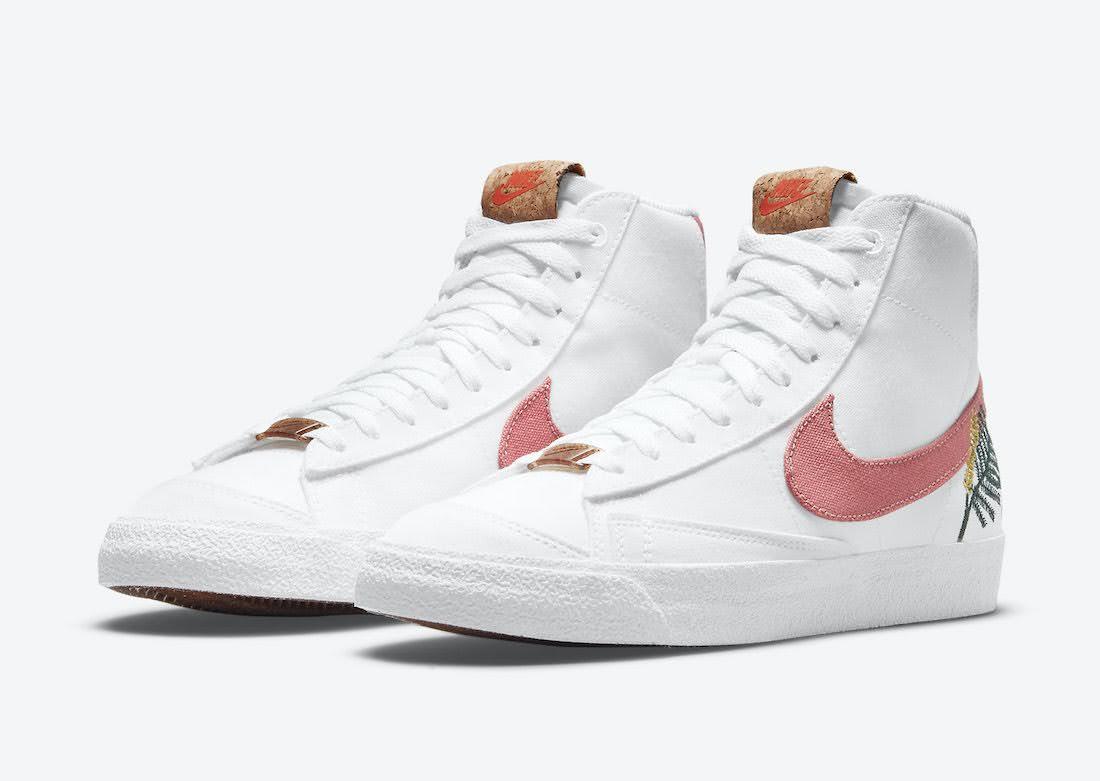 """ナイキ ブレーザー ミッド 77 """"カテキュウ"""" Nike-Blazer-Mid-77-Catechu-DC9265-101-pair"""