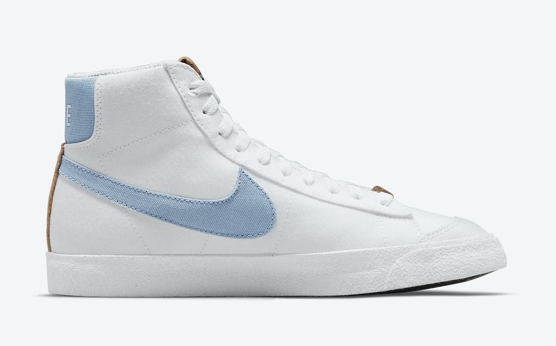 """ナイキ ブレーザー ミッド 77 """"インディゴ"""" Nike-Blazer-Mid-77-Indigo-DC9265-100-side-2"""