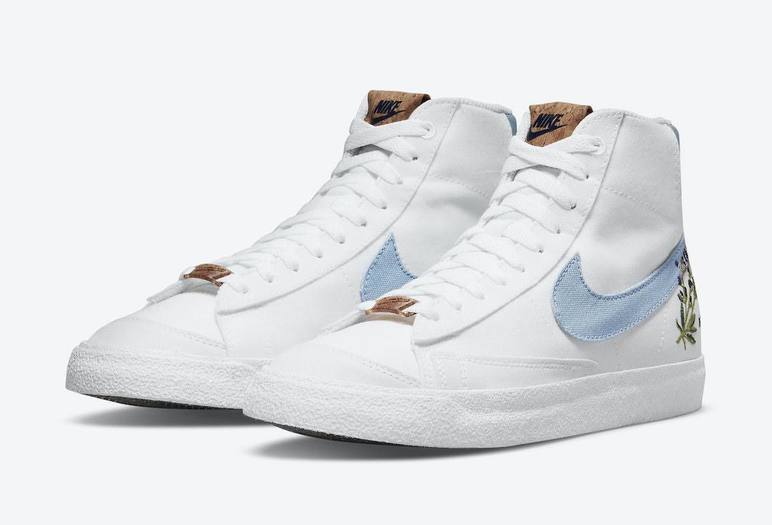 """ナイキ ブレーザー ミッド 77 """"インディゴ"""" Nike-Blazer-Mid-77-Indigo-DC9265-100-pair"""