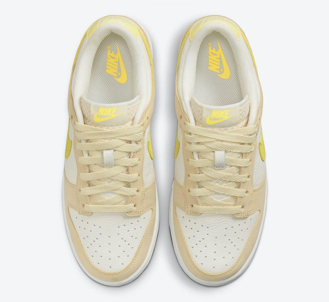 """ナイキ ウィメンズ ダンク ロー """"レモン ドロップ"""" Nike-Dunk-Low-Lemon-Drop-DJ6902-700-top"""