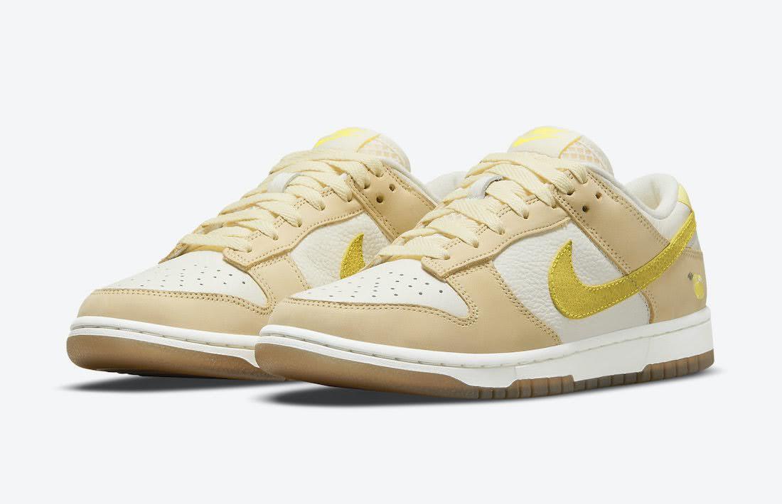 """ナイキ ウィメンズ ダンク ロー """"レモン ドロップ"""" Nike-Dunk-Low-Lemon-Drop-DJ6902-700-pair"""