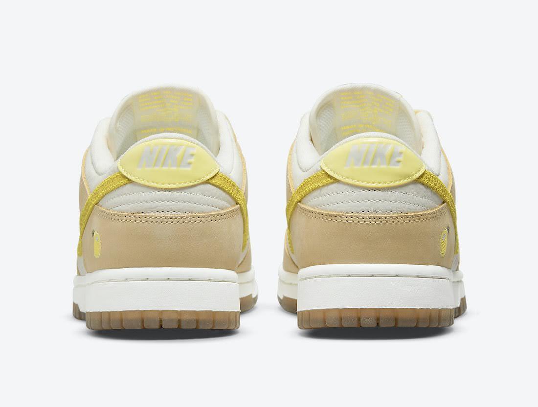 """ナイキ ウィメンズ ダンク ロー """"レモン ドロップ"""" Nike-Dunk-Low-Lemon-Drop-DJ6902-700-heel"""