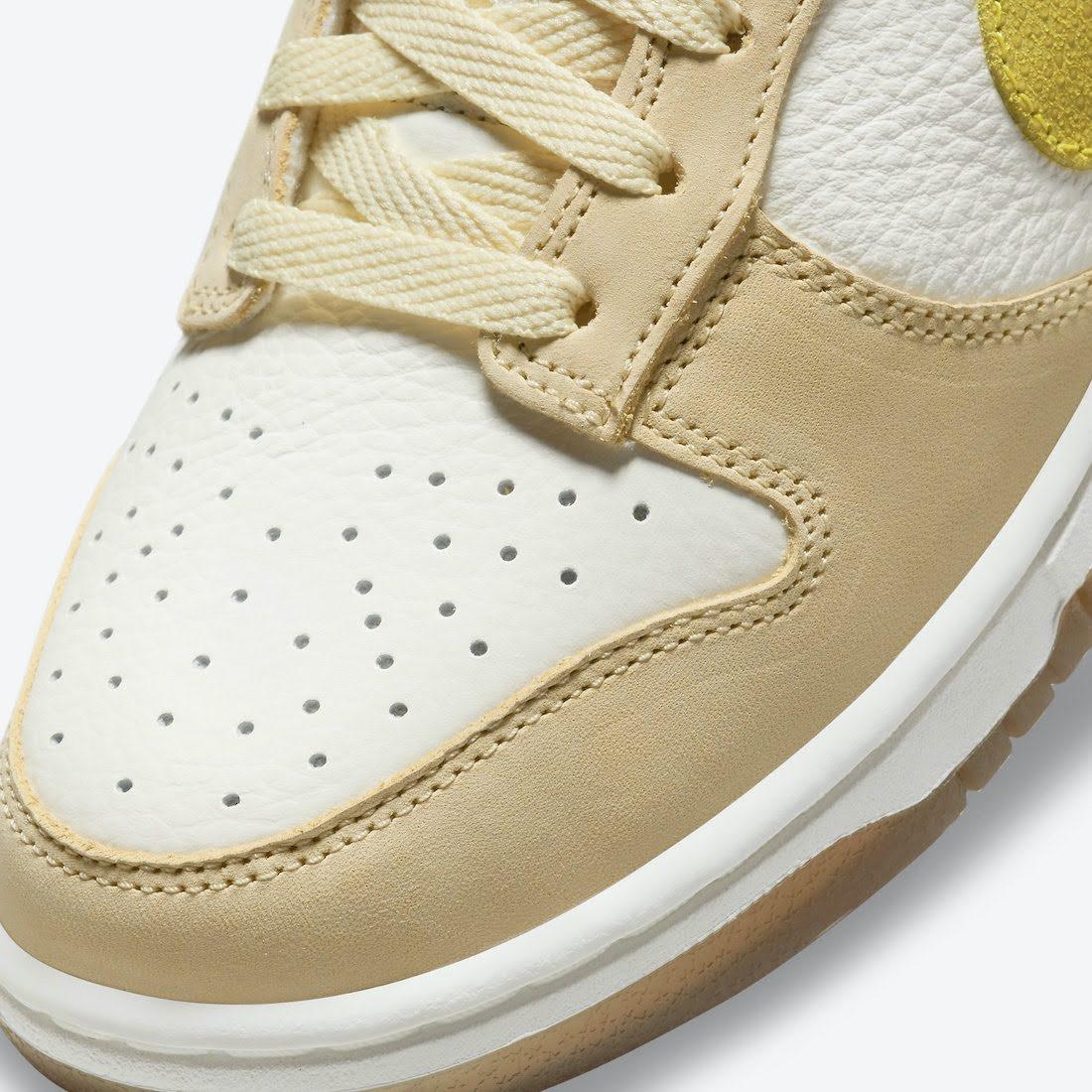 """ナイキ ウィメンズ ダンク ロー """"レモン ドロップ"""" Nike-Dunk-Low-Lemon-Drop-DJ6902-700-toe"""