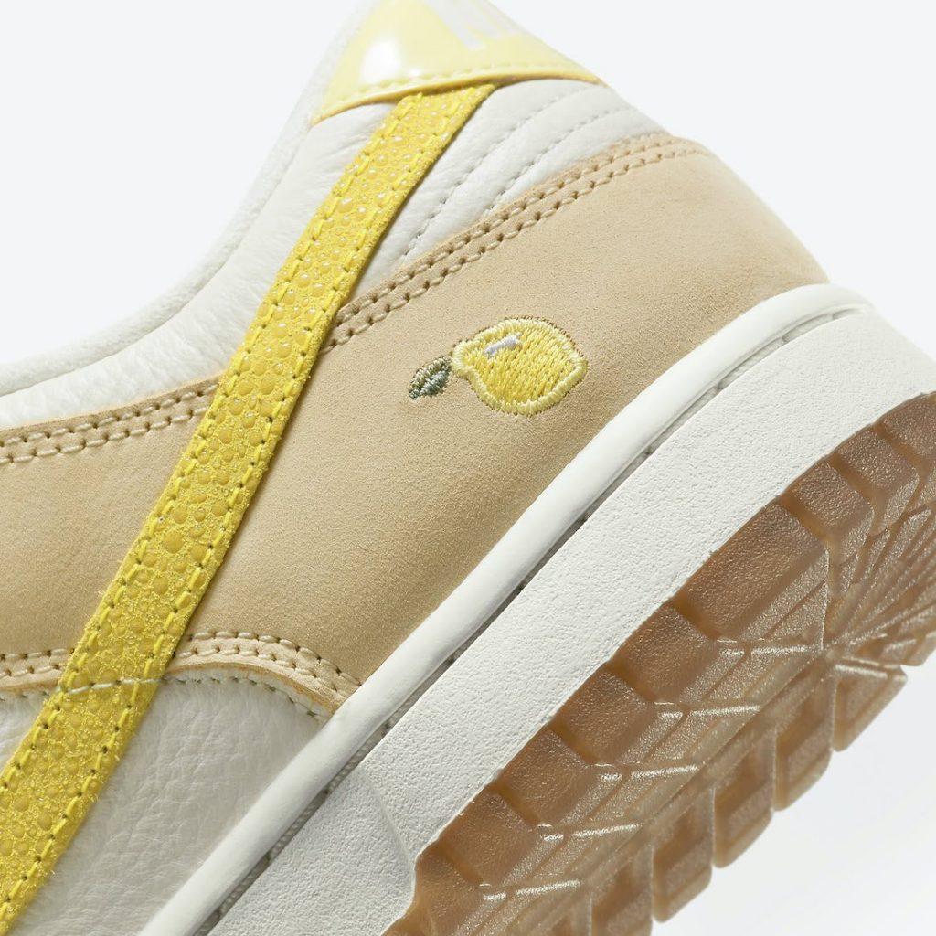 """ナイキ ウィメンズ ダンク ロー """"レモン ドロップ"""" Nike-Dunk-Low-Lemon-Drop-DJ6902-700-lemon-design"""