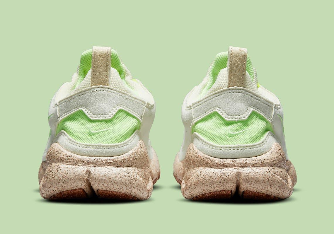 """ナイキ フリー ラン トレイル """"ハッピー パイナップル"""" Nike-Free-Run-Trail-happy-pineapple-CZ9079-100-heel"""