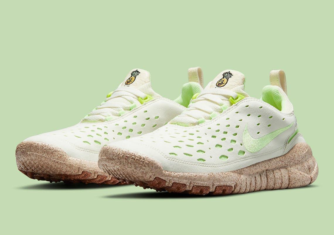 """ナイキ フリー ラン トレイル """"ハッピー パイナップル"""" Nike-Free-Run-Trail-happy-pineapple-CZ9079-100-pair"""