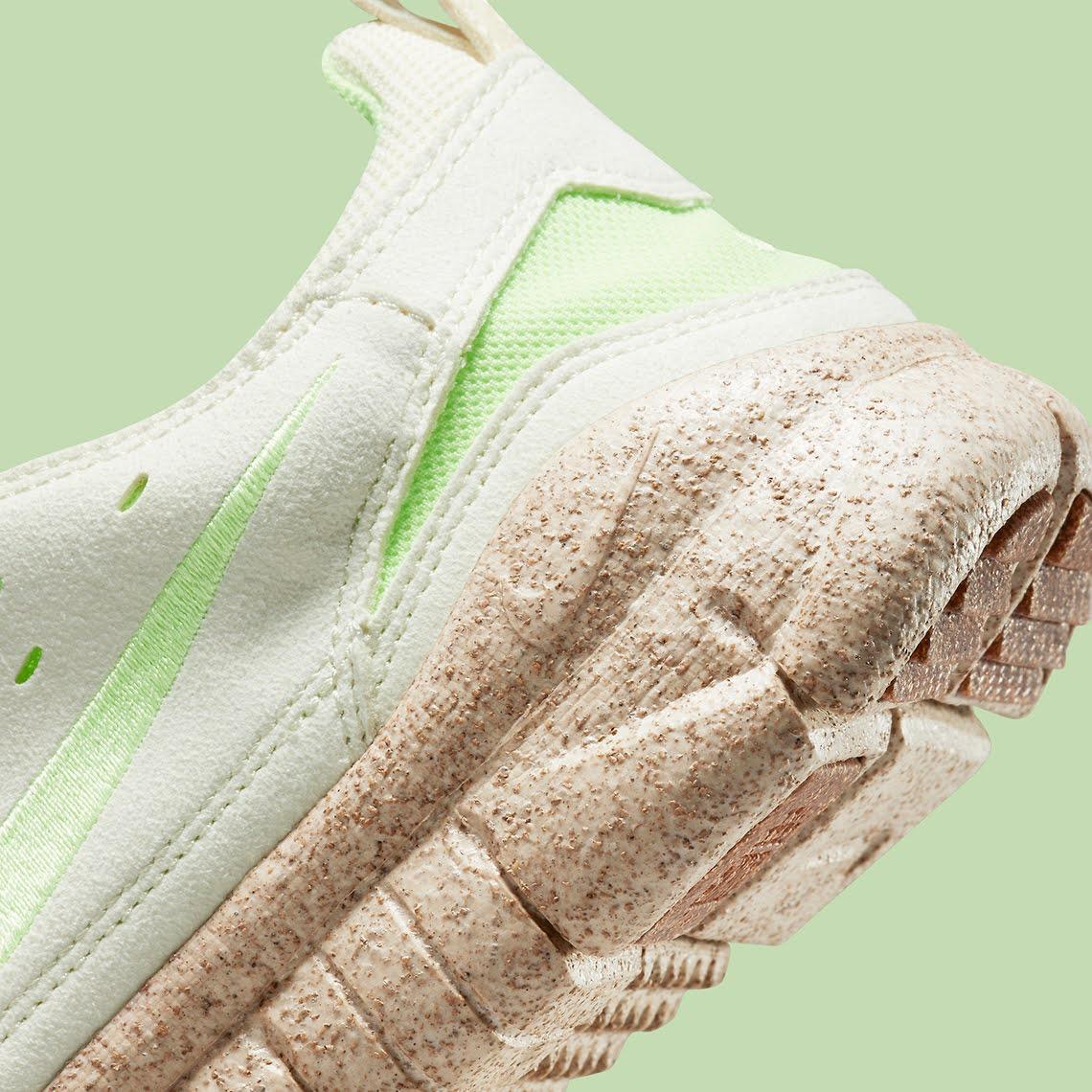 """ナイキ フリー ラン トレイル """"ハッピー パイナップル"""" Nike-Free-Run-Trail-happy-pineapple-CZ9079-100-side-heel"""