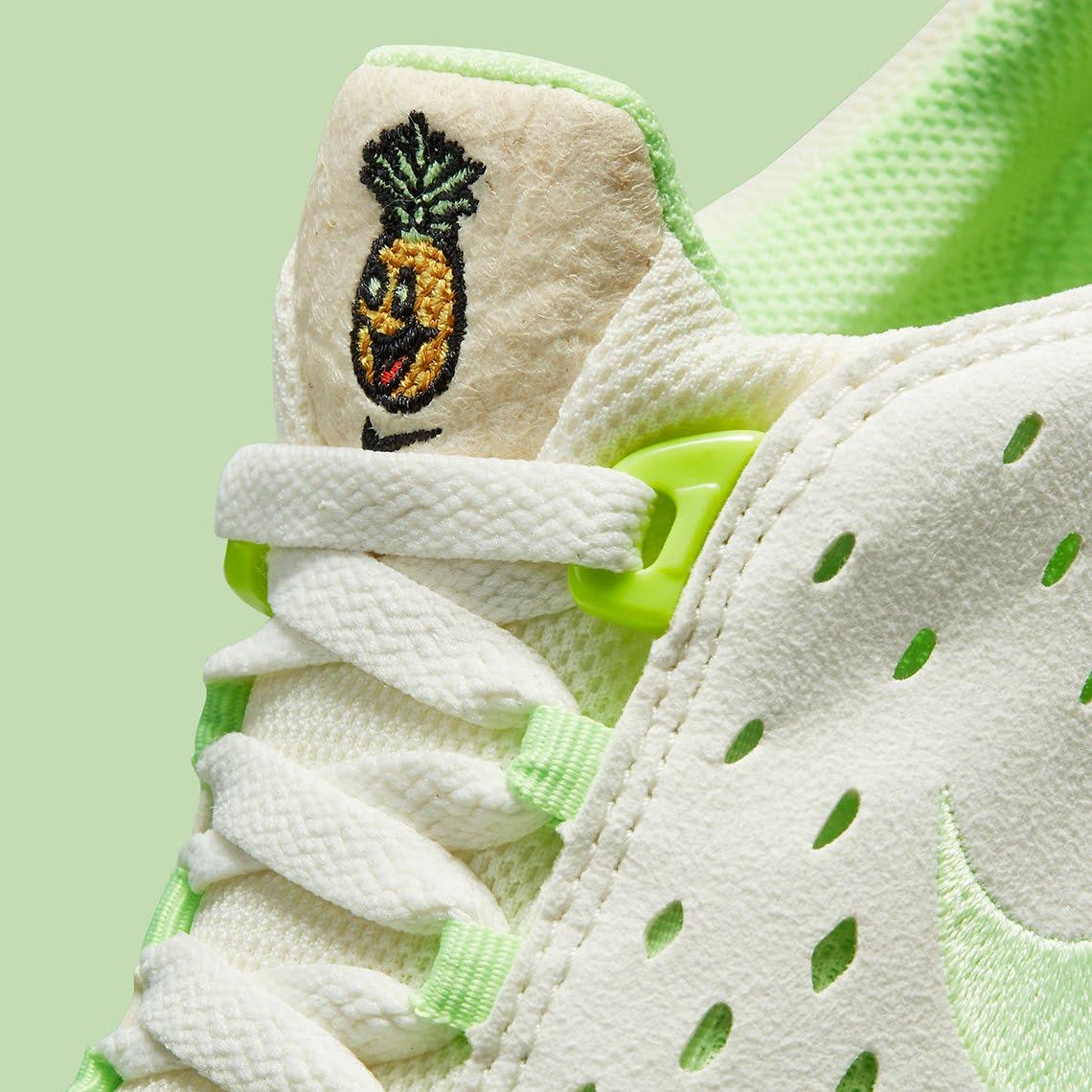 """ナイキ フリー ラン トレイル """"ハッピー パイナップル"""" Nike-Free-Run-Trail-happy-pineapple-CZ9079-100-tongue"""
