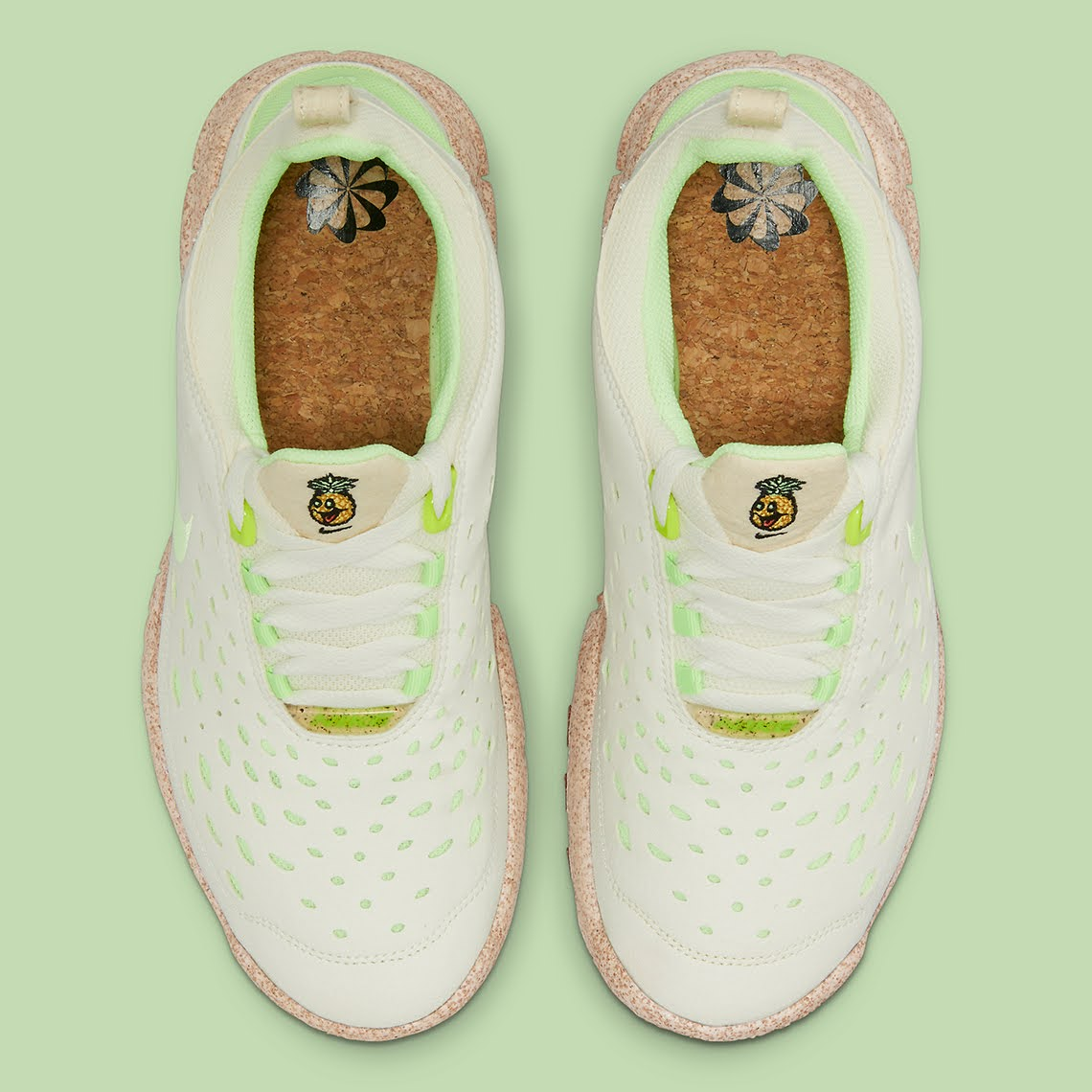 """ナイキ フリー ラン トレイル """"ハッピー パイナップル"""" Nike-Free-Run-Trail-happy-pineapple-CZ9079-100-top"""
