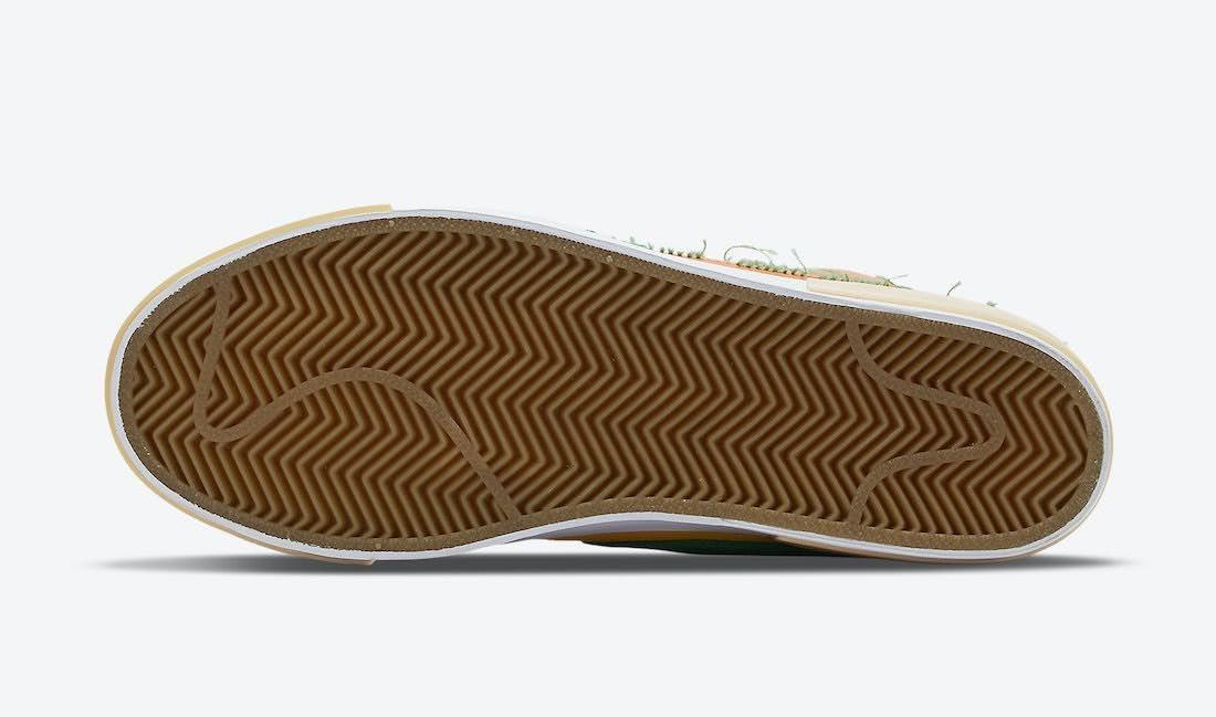 """ナイキ SB ブレーザー ミッド エッジ """"マルチカラー"""" Nike-SB-Blazer-Mid-Edge-Multi-Color-DA2189-800-sole"""