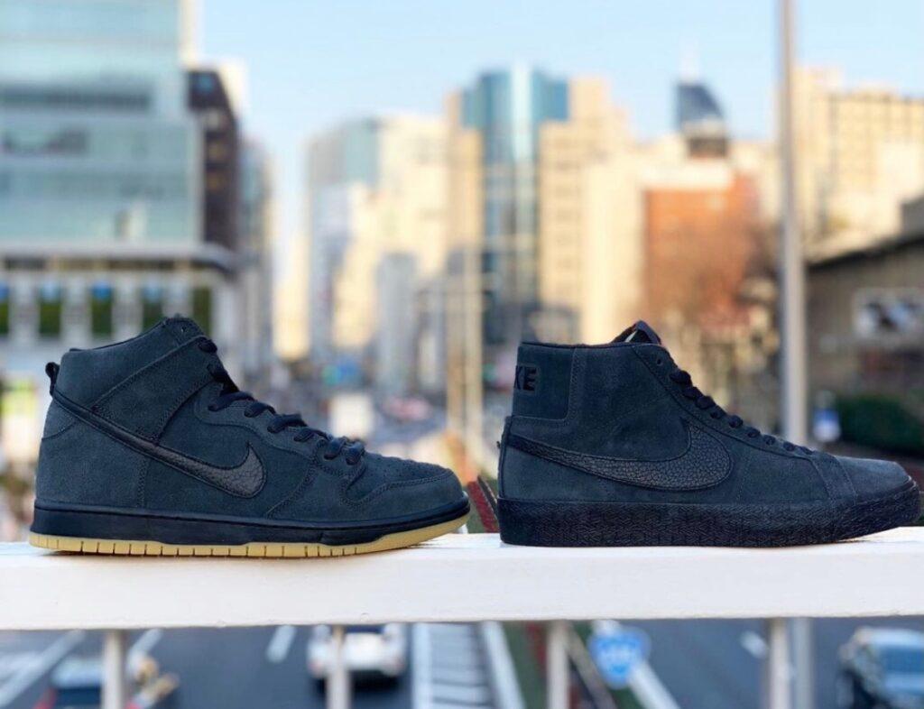 """3月1日発売【Nike SB Blazer Mid ISO & Dunk High Pro ISO """"Dark Smoke Grey""""】**メンズ展開のみ"""