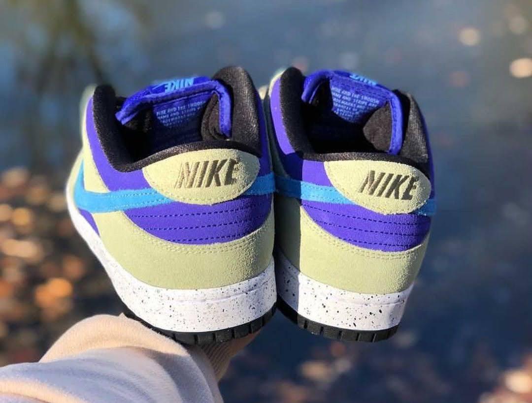 """ナイキ SB ダンクロー """"カルデラ ACG"""" Nike-SB-Dunk-Low-Caldera-ACG-heel"""