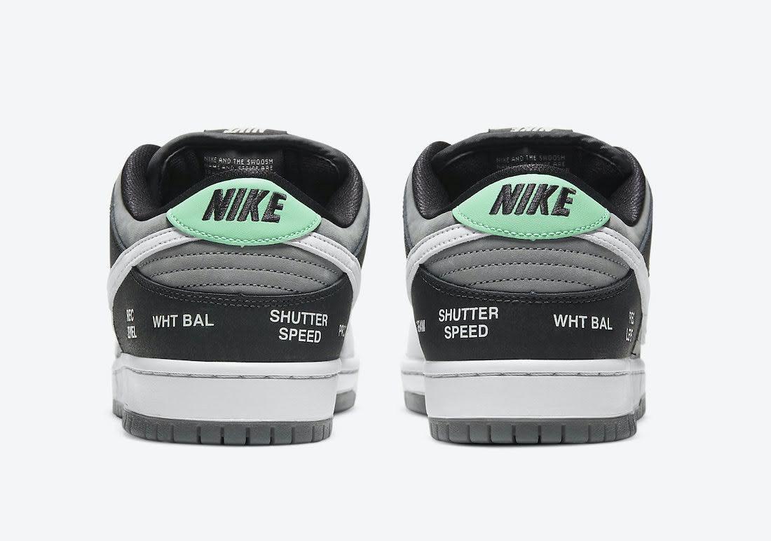 """ナイキ SB ダンク ロー """"カムコーダー"""" Nike-SB-Dunk-Low-Camcorder-CV1659-001-heel"""