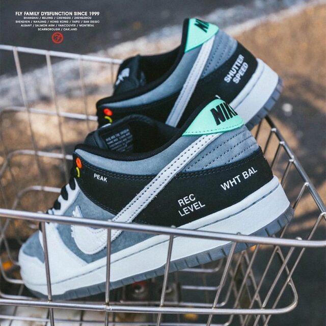 """ナイキ SB ダンク ロー """"カムコーダー"""" Nike-SB-Dunk-Low-Camcorder-CV1659-001-look"""