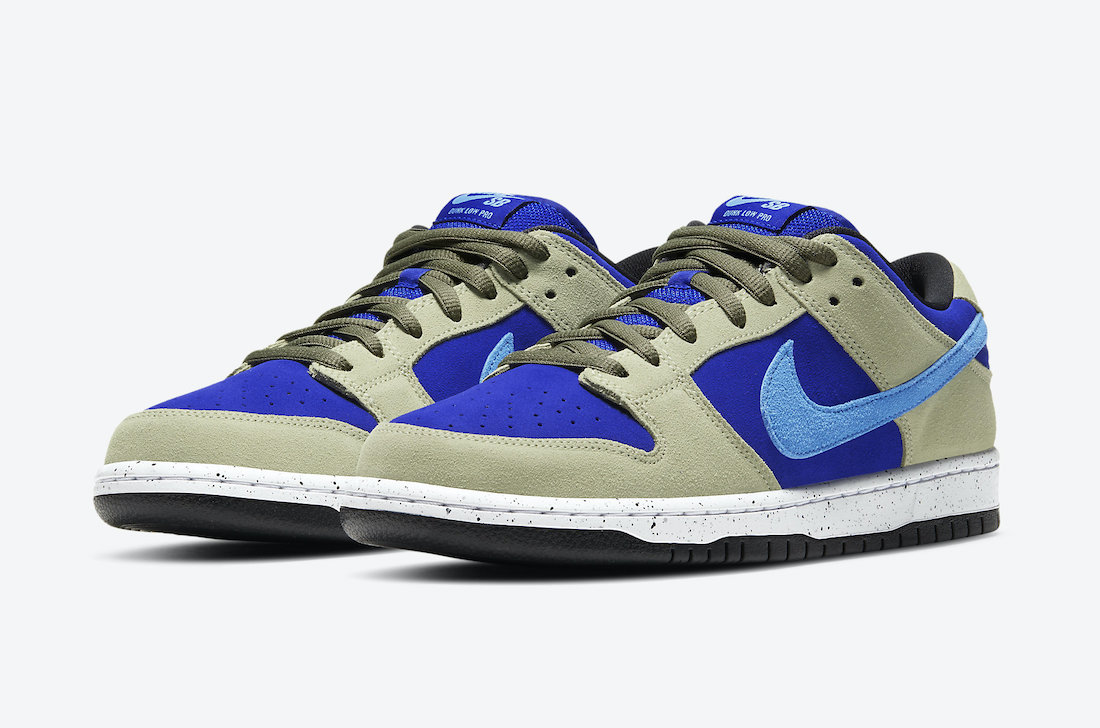 "Nike SB Dunk Low ""Caldera ACG"" ナイキ SB ダンクロー ""カルデラ ACG"" BQ6817-301 Celadon/Coast-Concord-Black main"