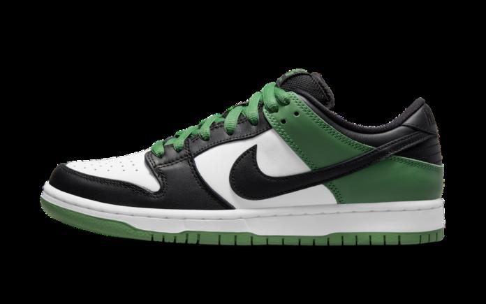 """ナイキ SB ダンク ロー """"クラシック グリーン"""" Nike-SB-Dunk-Low-classic green-BQ6817-302-main pair"""