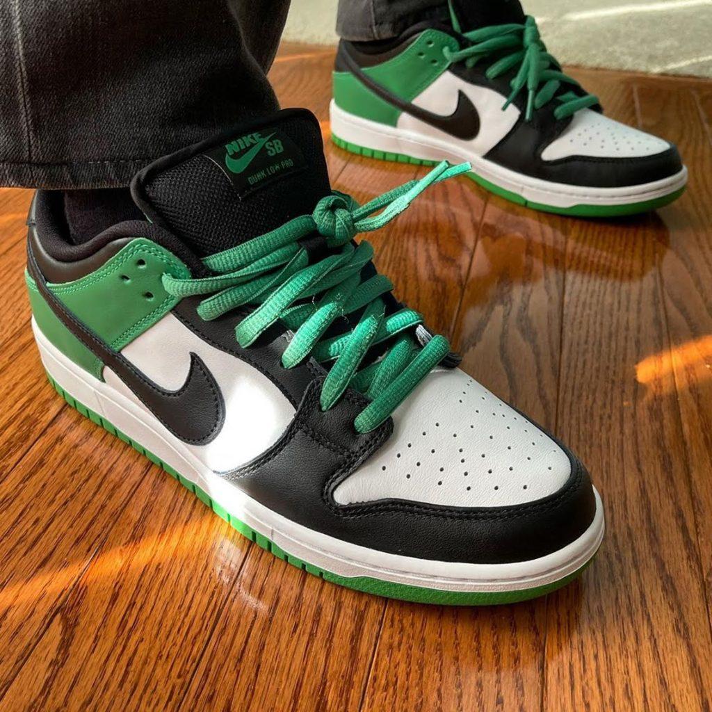 """6月1日発売【Nike SB Dunk Low """"Classic Green""""】"""